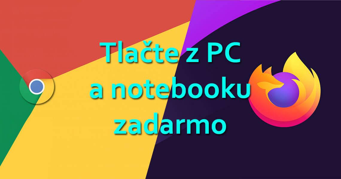Tlačte doklady z VRP cez PC a notebook zadarmo vdaka modulom pre webove prehliadace google chrome a mozilla firefox od blockomat.sk